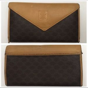 Celine Paris Vintage Leather Wallet